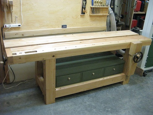 Shigshop.com - Roubo workbench plan preview - Shigshop